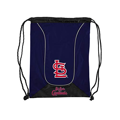 (Officially Licensed MLB St Louis Cardinals Doubleheader Backsack, 18-Inch, Navy)