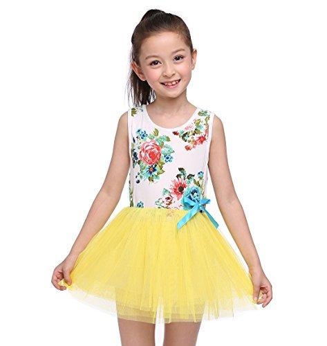 120cm Party Long Dress Sleeveless Princess Girl Dress-Purple - 2