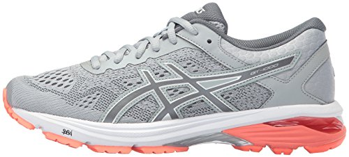 EU Carbon 6 39 1000 Mid Schuhe Frauen Asics Flash Grey Coral Gt AwqYx7nB