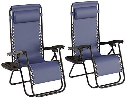 Lavish Home Zero Gravity Lounge Chairs