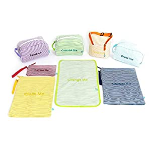 Easy Baby Diaper Bag Organizer Tote Pouches