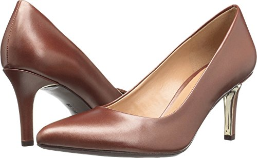 Naturalizer Women's Natalie Dress Pump Caramel 9 W US ()