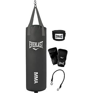 Everlast MMA 70 Pound Punching Bag Set
