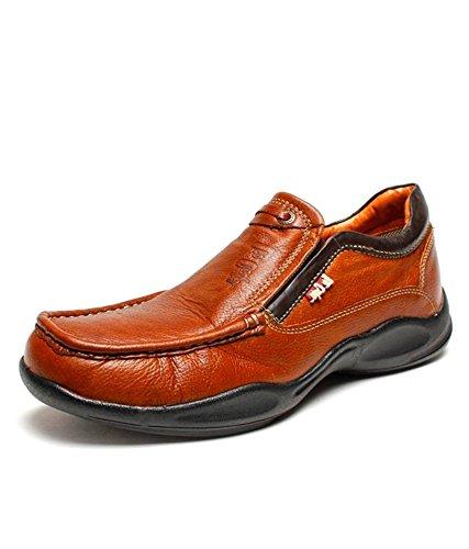42b64b63ee Lee Cooper Men's Brown Casual Shoes - 9 UK/India (43 EU): Buy Online ...