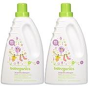 Babyganics Baby Laundry Detergent - Lavender - 60 oz - 2 pk