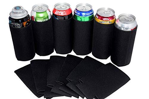 QualityPerfection Tallboy - Funda de neopreno para enfriador de latas de cerveza, 24 oz, reversible, aislamiento a granel con...
