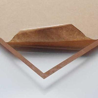 "Museum Quality Acrylic Plexiglass Plastic Sheet 1/8"" x 24"" x 36"" - Clear"