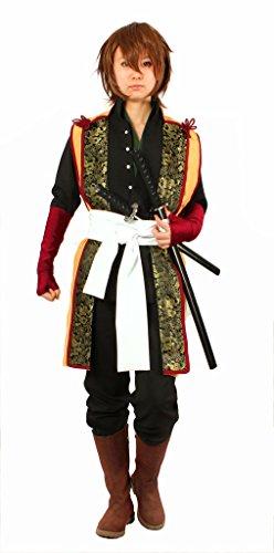 [MILICA BOOKS Hakuouki Souji Okita Cosplay Costume Size L] (Okita Souji Cosplay Costume)