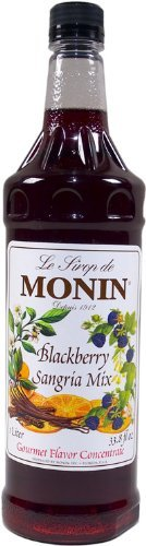 Monin Blackberry Sangria Mix 33.8FL.oz