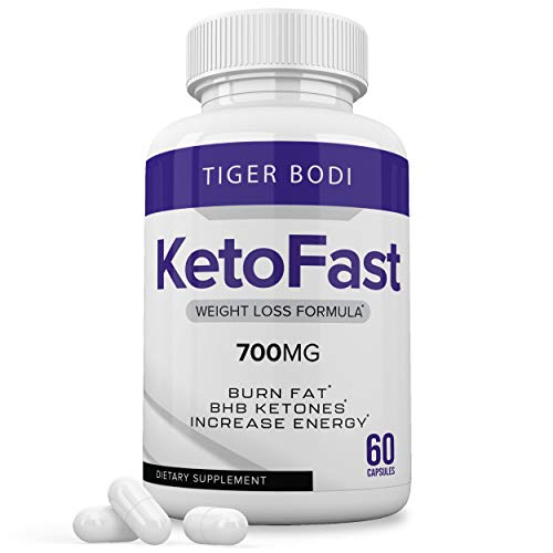 Keto Fast Pills, Keto Fast 700 mg Capsules – Pure KetoFast Supplement for Energy – BHB Ultra Boost Exogenous Ketones for…