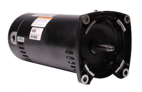 Century USQ1152 1-1/2 HP, 1.1 Service Factor, 48Y Frame, Capacitor Start/Capacitor Run, ODP Enclosure, Square Flange Pool Motor (Flange Motor Square)
