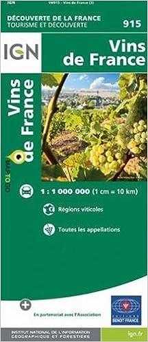 FRANCE CARTE DES
