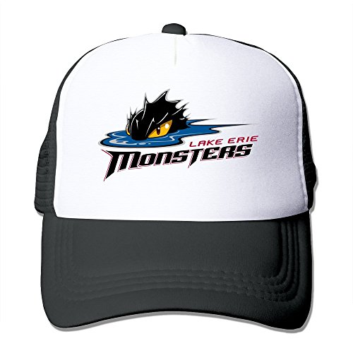 [Lake Erie Monsters Funny Male/female Trucker Hat] (Funny Hats For Sale)