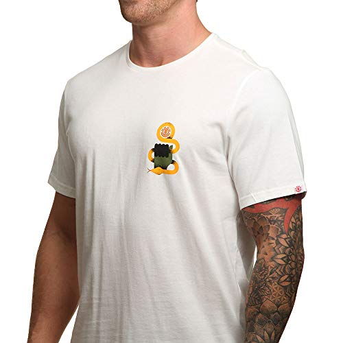 Bone shirt Element White T Serpent gqCwp