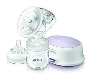 Philips Avent SCF332/01 - Extractor de leche eléctrico, con cojín masajeador suave - importado