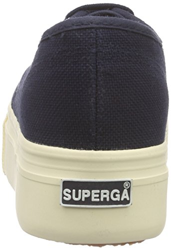 Down 933 Linea Superga Womens Canvas Acotw Up Blue Shoes 2790 And qqPY1