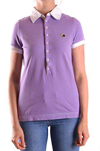 Dsquared2 Damen MCBI107013O Violett Baumwolle Poloshirt