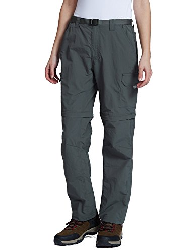 Baleaf Womens Quick Dry Convertible Cargo Pants Water Repellent UPF 50+