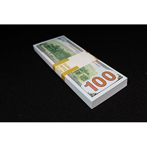 FULL PRINT DOUBLE SIDED COPY PROP MONEY 10K 10 000 $ DOLLARS
