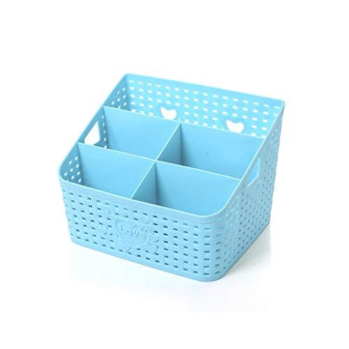 JSY Cosmétique Stockage Box Office Bureau en Plastique Grande Papeterie Stockage Soins de la Peau Coiffeuse étagère…