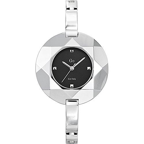 Go Girl Only 694747 - Reloj analógico de Cuarzo para Mujer, Correa de Metal Color Plateado: Amazon.es: Relojes