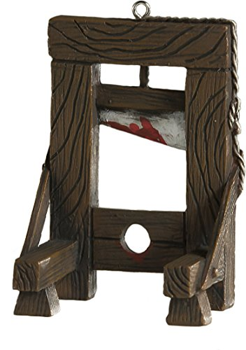 (Bloody Guillotine Ornament - Scary Prop and Decoration for Halloween, Christmas, Parties and Events - by)