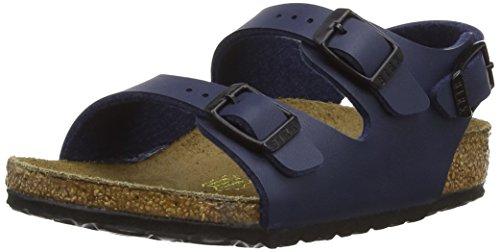 Birkenstock Unisex-Child Roma Kids Blue synthetic Sandals 25.0 W EU R 233081 by Birkenstock (Image #1)