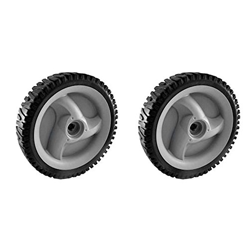 Craftsman 583719501 Lawn Mower Wheel, 8 x 1.75-in, 2-Pack, Genuine Original Equipment Manufacturer (OEM) Part