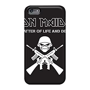 ErleneRobinson Iphone 6 Shock Absorbent Cell-phone Hard Cover Custom Lifelike Death Band Pictures [OyE2394HFMg]