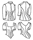 1885 Cuirass Bodice Pattern by Truly Victorian