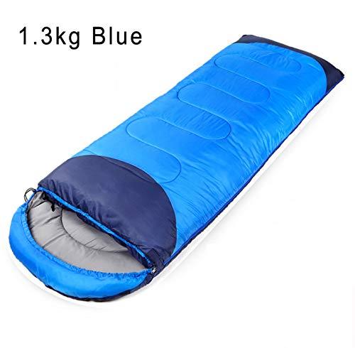 Hewolf Outdoor Camping Erwachsene (190 + 30)  75 cm Aneinanderreihbares Design Umschlagschlafsack Vier Jahreszeiten Kann gespleißt Werden Reise-Schlafsack
