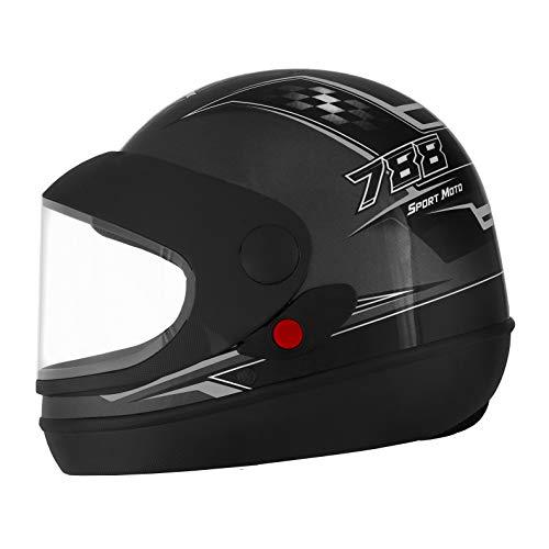 Pro Tork Capacete Super Sport Moto 56 Grafite/Cinza