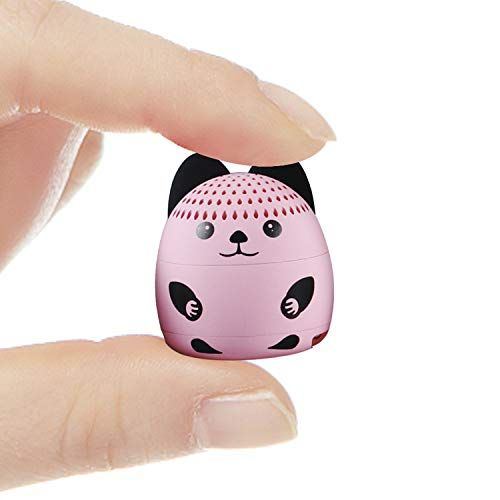 AUXCOO Small Portable Bluetooth Speaker with Animal Image Designed Super Cute Speaker for Party Indoor Outdoor Activity…