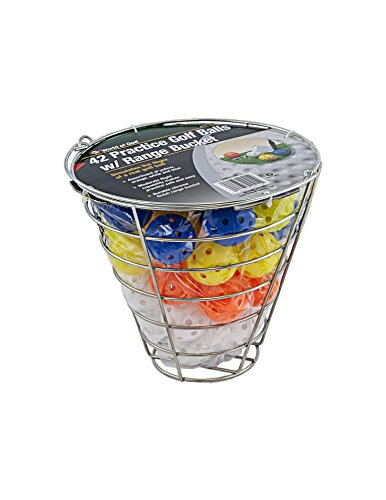 Multi Colored Golf Balls - Jef World of Golf Gifts and Gallery, Inc. Golf Practice Balls (48 Multi-Colored Balls)