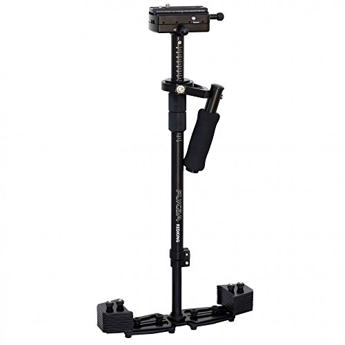 FLYCAM Redking Quick Balancing Video Camera Stabilizer with Dovetail Quick Release (FLCM-RK) | Professional CNC Aluminum Camera Stabilizer for DSLR BMCC Sony Nikon DV Camcorders up to 7kg/15.4lb + Bag