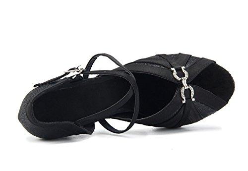 Ballo 5cm Miyoopark Scarpe Da 8 Donna Black Heel ExOqOwpn