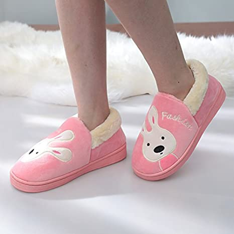 d7811f59abfd0 Amazon.com: Aemember The Warm Winter Shoes In Male Female Slippers ...