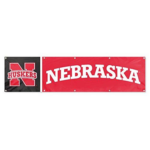 - Party Animal Nebraska Cornhuskers 8'x2' NCAA College Banner