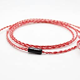 Mix Wave Beat Audio 2.5mm Balanced Vermilion for Shure BEA-2099 From Japan