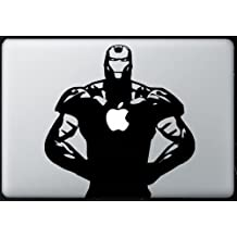 Iron man MacBook Air-Pro 11 13 15 17 Vinyl Stickers, Skin, Decal...