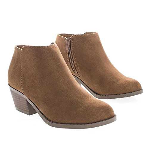 Western Ankle Simple Low Mug Soda Shoes Women's s Booties Conac Heel Sv Fashion ntx0w8qfw