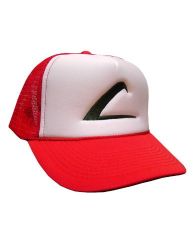 Swagge Brand Embroidered Trainer Hat - One Size - Red - White