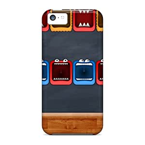 Iphone 5c Case, Premium Protective Case With Awesome Look - Monster Hd 3