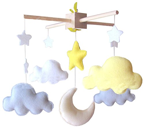 DIY Nursery-Mobiles For Crib Decorations Toy, Need Sewing ()