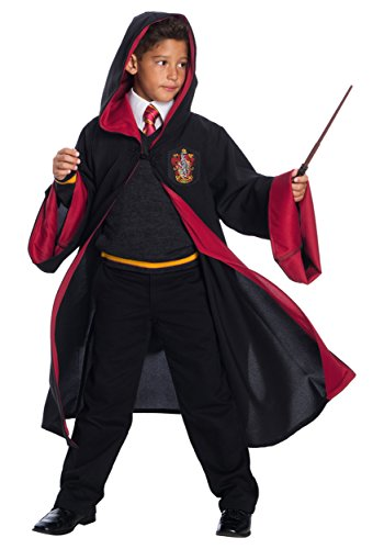Costume Gryffindor Sweater (Child Deluxe Gryffindor Student Costume -)