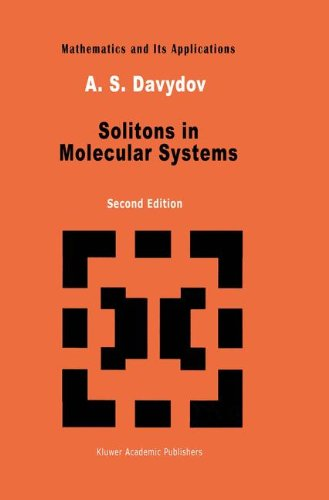 Price comparison product image Solitons in Molecular Systems (Mathematics and its Applications)