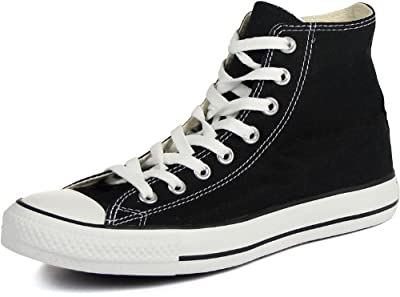Converse Chuck Taylor All Star Classic High Top Sneakers - Black US Men 10.5 / US Women 12.5
