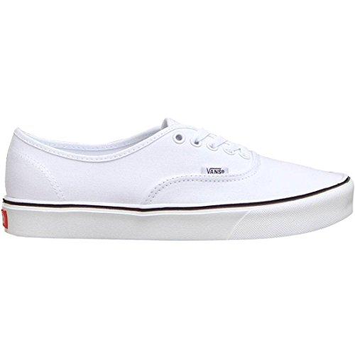 Vans Authentic Lite Plus, Baskets Basses Mixte Adulte Blanc (Canvas/True White)