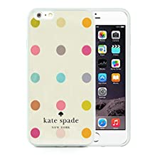Luxurious And Popular Custom Designed Kate Spade iPhone 6 Plus White Phone Case 5.5 inch Screen 015