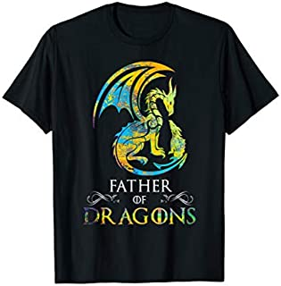 [Featured] Funny Father of Dragons  Father Day Best Gift for Dad in ALL styles   Size S - 5XL
